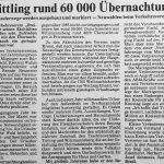 1986 | 60.000 Übernachtungen