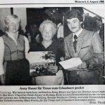 1988 | Für Treue geehrt